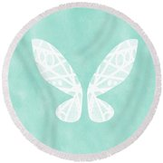 Fairy Wings- Art By Linda Woods Round Beach Towel