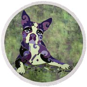 On Stand By Round Beach Towel