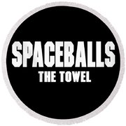 Spaceballs Branded Products Round Beach Towel
