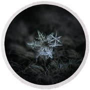 Snowflake Of 19 March 2013 Round Beach Towel