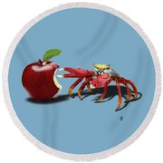 Core Colour Round Beach Towel by Rob Snow