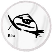 Bliss Round Beach Towel