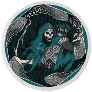 Underworld Archer Of Death Round Beach Towel