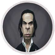 Celebrity Sunday - Nick Cave Round Beach Towel
