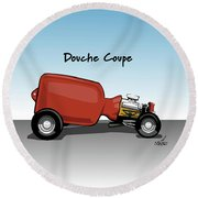 Douche Coupe Round Beach Towel