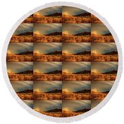 Beyond The Rainbow Round Beach Towel