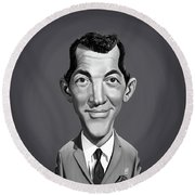 Celebrity Sunday - Dean Martin Round Beach Towel