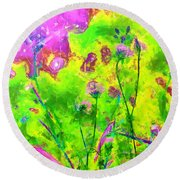 Calleth Round Beach Towel