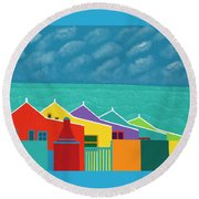 Aruba Fantasy  Round Beach Towel