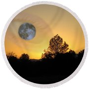 Round Beach Towel featuring the photograph As I See It by Joyce Dickens