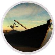 Ashore... Round Beach Towel by Tim Fillingim