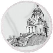 Ashton Memorial Round Beach Towel