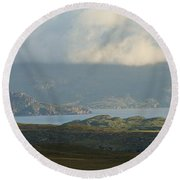 Assynt Round Beach Towel