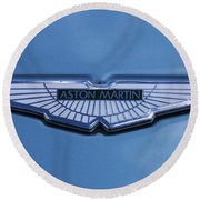 Aston Martin Round Beach Towel by Scott Carruthers
