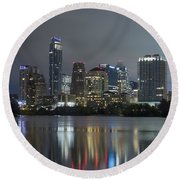 Austin Reflections Round Beach Towel
