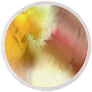 Autumn II Round Beach Towel