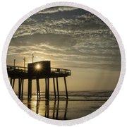Avalon Sunrise Round Beach Towel
