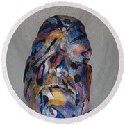 Awakend Round Beach Towel