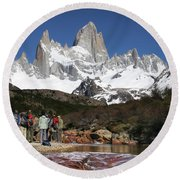 Awestruck Round Beach Towel by Gary Hall