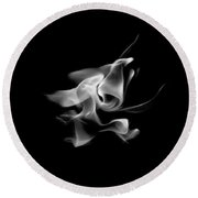 B/w Flame 5289 Round Beach Towel