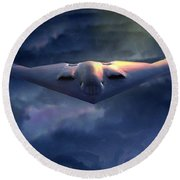 B2 Spirit Round Beach Towel