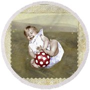 Baby Ball Round Beach Towel