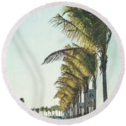Back Down South Round Beach Towel