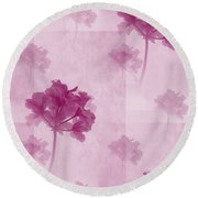 colour choice Romance Round Beach Towel
