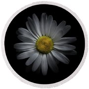 Backyard Flowers 60 Color Version Round Beach Towel