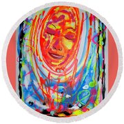 Baddreamgirl Round Beach Towel