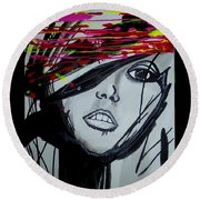Badview Round Beach Towel