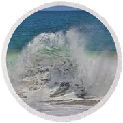 Baja Wave Round Beach Towel