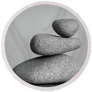 Balancing Act Round Beach Towel