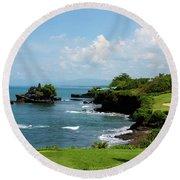 Bali High Round Beach Towel