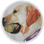 Ball Boy Round Beach Towel