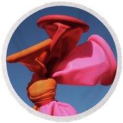 Balloon Lips Round Beach Towel