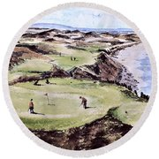 Ballybunion Gc, Kerry Round Beach Towel