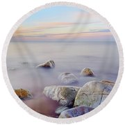 Baltic Zen IIi Round Beach Towel