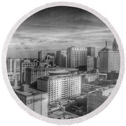 Baltimore Landscape - Bromo Seltzer Arts Tower Round Beach Towel