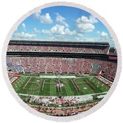 Bama Spell-out Panorama Round Beach Towel