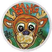Bango The Great Round Beach Towel