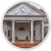 Banksia Mansion - Aiken, Sc Round Beach Towel