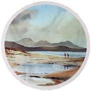 Banna Strand, Kerry...dscfo510 Round Beach Towel
