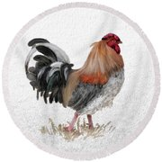 Barnyard Boss Round Beach Towel