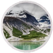 Barren Alaska Round Beach Towel