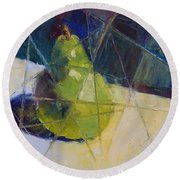 Bartlett #8 - Fractured Round Beach Towel