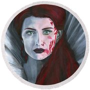 Bathory Round Beach Towel