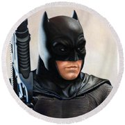 Batman 2 Round Beach Towel
