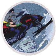 Batman '66 Round Beach Towel