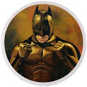 Batman The Dark Knight  Round Beach Towel